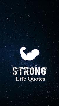 Strong Life Quotes APK screenshot 1