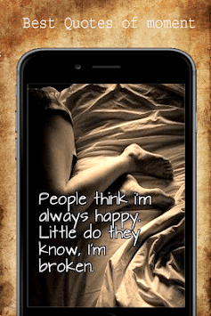 Sad Love Quotes APK screenshot 1