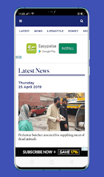 Samaa News Live APK screenshot 1