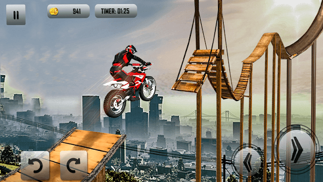 Crazy Bike Tricky Stunt Master APK screenshot 1