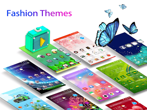 APUS Launcher - Theme, Wallpaper, Hide Apps APK screenshot 1