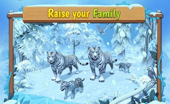White Tiger Family Sim Online APK screenshot 1