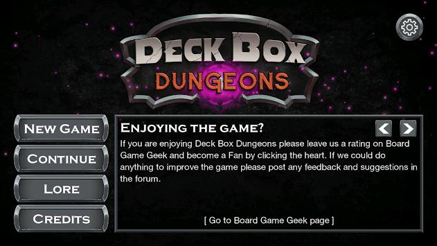 Deck Box Dungeons APK screenshot 1