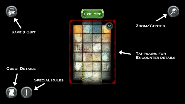 Deck Box Dungeons APK screenshot 1