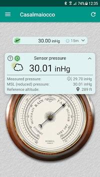 Accurate Barometer APK screenshot 1