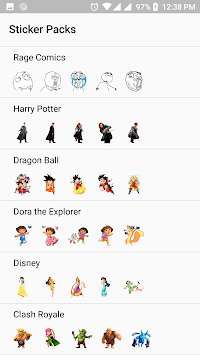 WhatStickers FREE - WAStickerApps Stickers APK screenshot 1