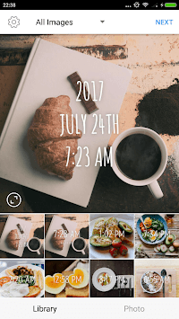 Timestamp Camera - Stamp Time and Date on Photos APK screenshot 1