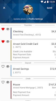 Arvest Go Mobile Banking APK screenshot 1