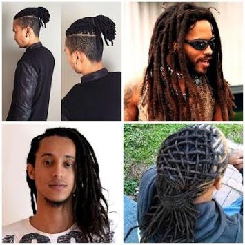 Dread hairstyles for men APK screenshot 1