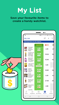 Hargapedia - Compare Grocery Prices for Deals APK screenshot 1