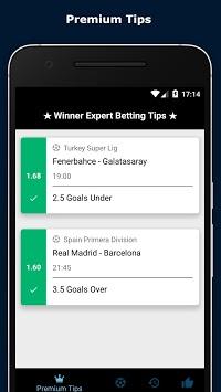 Winner Expert Betting Tips APK screenshot 1