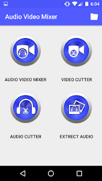 Audio Video Mixer Video Cutter video to mp3 app APK screenshot 1