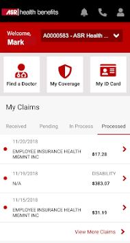My ASR Benefits APK screenshot 1