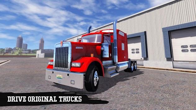 Truck Simulation 19 APK screenshot 1