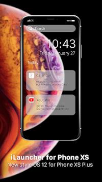 xLauncher for Phone XS - iLauncher for OS 12 APK screenshot 1