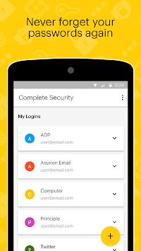Sprint Complete Security APK screenshot 1