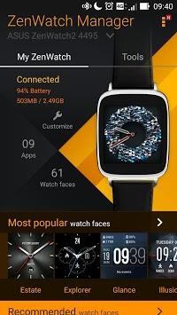 ZenWatch Manager APK screenshot 1