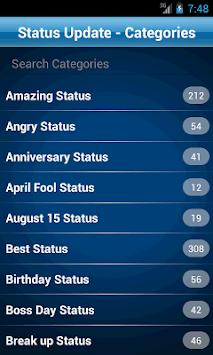50000 Status Quotes Collection APK screenshot 1