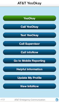 AT&T YesOkay (Int'l) APK screenshot 1