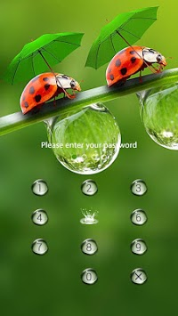Raindrop Theme – AppLock APK screenshot 1
