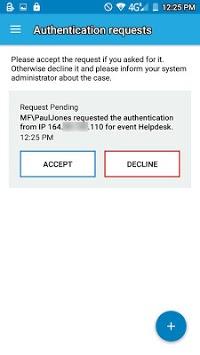 Authasas Smart Authenticator APK screenshot 1