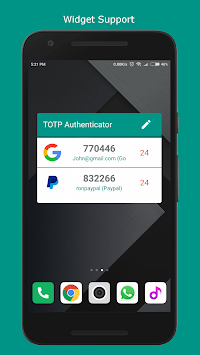 TOTP Authenticator Pro – 2-Factor Auth Security APK screenshot 1