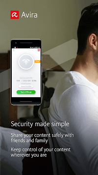 Avira Phantom VPN: Free & Fast VPN Client & Proxy APK screenshot 1
