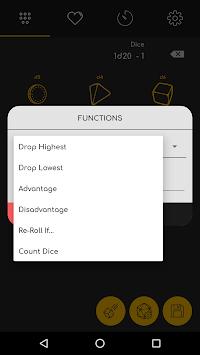 D20 - Dice Roller APK screenshot 1