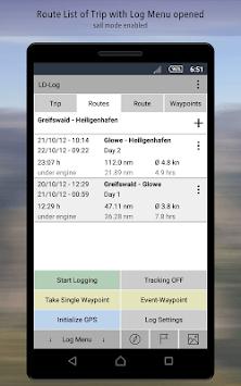 LD-Log FREE - GPS Logger & Travel Diary APK screenshot 1