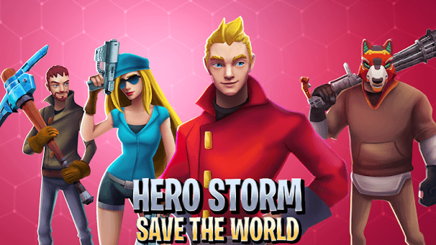 Hero Storm - Save the World APK screenshot 1