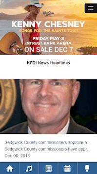 101.3 KFDI Wichita APK screenshot 1