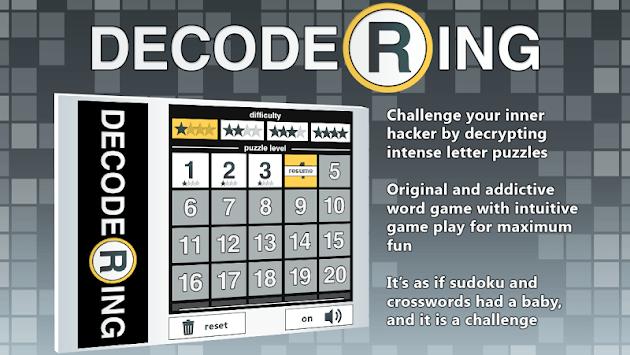Decoder Ring APK screenshot 1