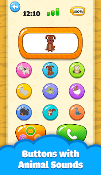 Baby Phone Kid -  Number Animal Music APK screenshot 1