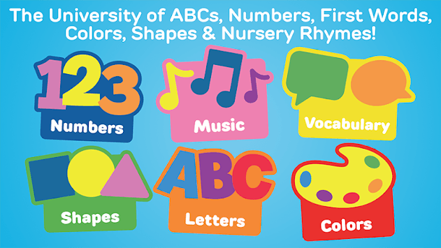 My First University: Baby Games, Alphabet & Shapes APK screenshot 1