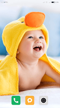 Cute Baby Wallpaper APK screenshot 1