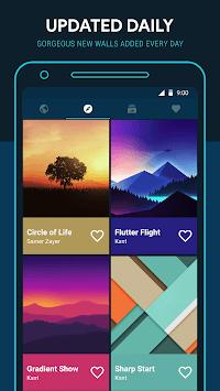 Backdrops - Wallpapers APK screenshot 1