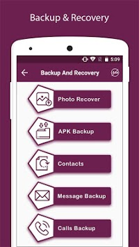 Recover Deleted All Photos, Files And Contacts APK screenshot 1