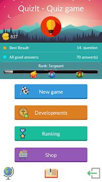 QuizIt - General Knowledge Trivia Quiz APK screenshot 1