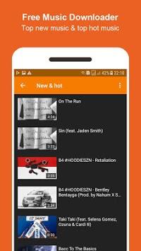Bamboo Mp3 Music Downloader APK screenshot 1