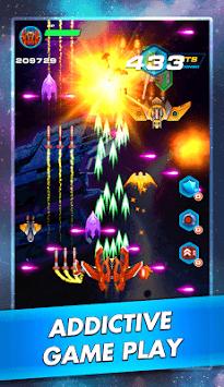 Galaxy Sky Shooter: Space Phoenix Hawk Attack APK screenshot 1