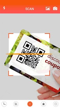 Barcode Scanner - QR code reader APK screenshot 1