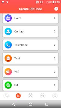 Barcode Scanner - QR code reader APK screenshot 1