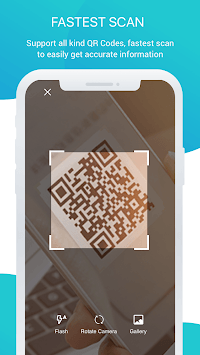 QRCode Barcode Scanner - Barcode Reader & Creator APK screenshot 1