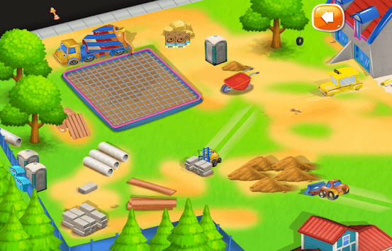 Construction City For Kids APK screenshot 1