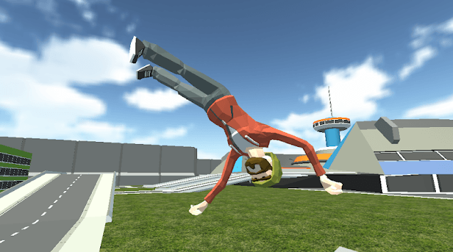 Human Throw Full Ragdoll Physics APK screenshot 1