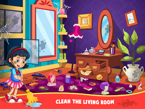Messy House Cleaning Cleanup APK screenshot 1