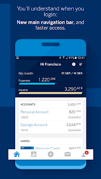 BBVA Spain APK screenshot 1