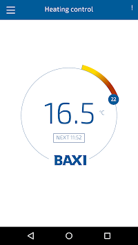 Baxi uSense smart thermostat APK screenshot 1