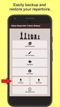 Chess Repertoire Trainer APK screenshot 1