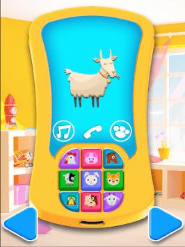 Baby Phone 2 - Pretend Play, Music & Learning FREE APK screenshot 1